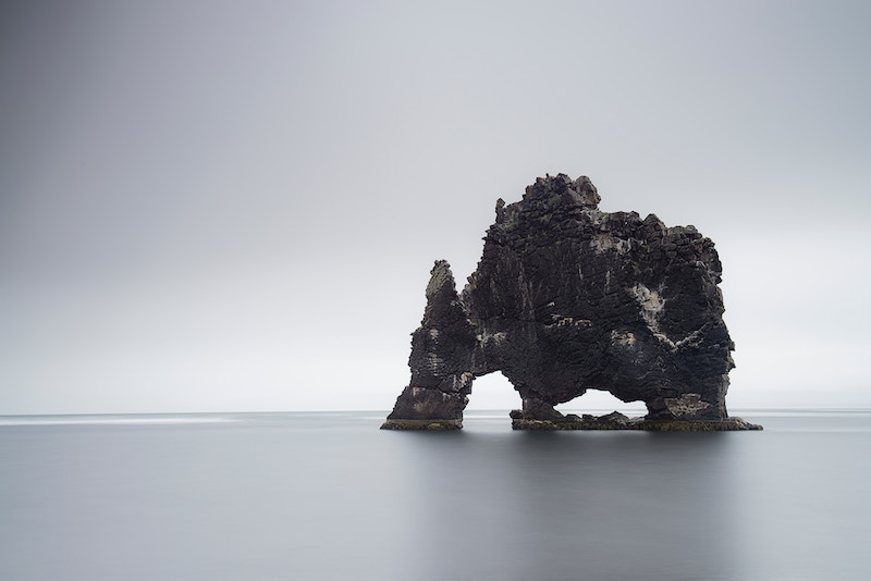 Iceland Rock formation